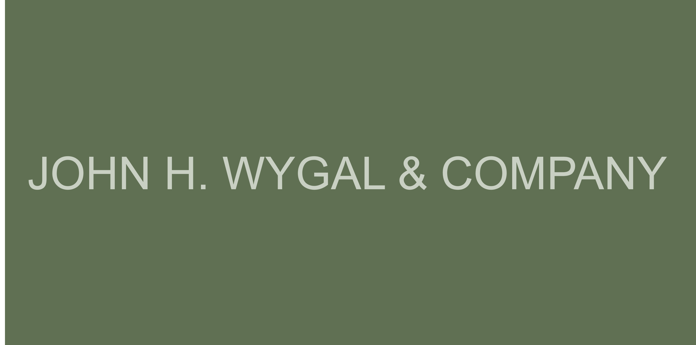 John H. Wygal & Company, Proud Member of the Greater Norwalk Chamber Since 1996